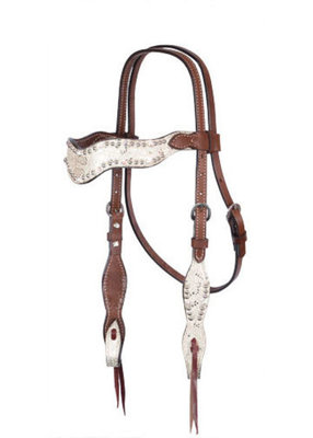 Wave Tack, Headstall, Chocolate