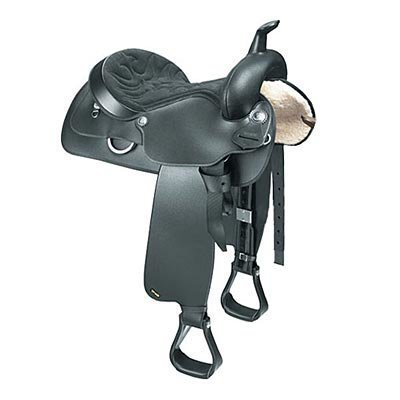 Wintec All-rounder Western Saddle, Full Quarter