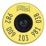 Allflex Standard Performance EID Tags, Yellow