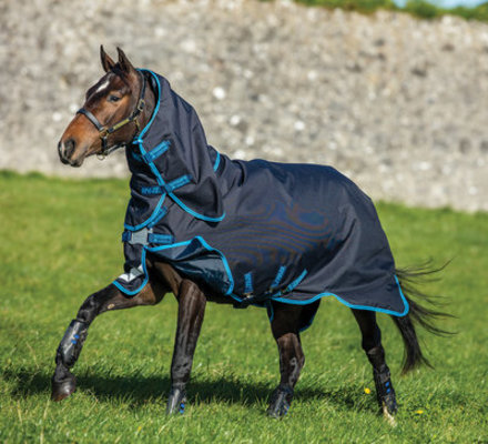 Amigo Bravo 12 Plus 1200D Turnout Blanket Bundle