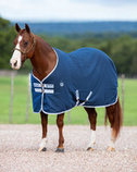 Amigo Stable Sheet, Navy/Silver Trim