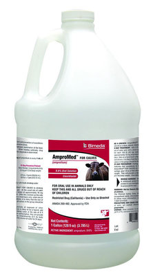 Gallon AmproMed Oral Solution for Calves