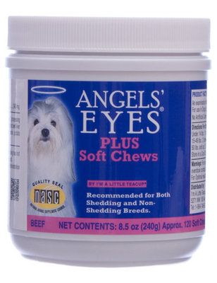 Angels' Eyes Plus Soft Chew, Beef, 120 count