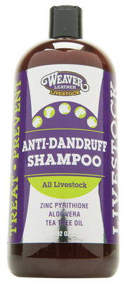 Anti-Dandruff Shampoo, All Livestock, quart