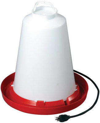 Heated Chicken Waterer, 3.3 gallon