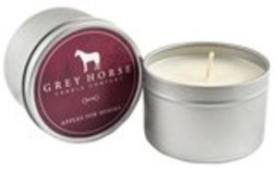 8 oz Grey Horse Candle Tin