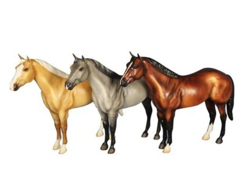 AQHA 75th Anniversary Edition Breyer Horse, single model