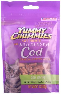 Yummy Chummies Soft & Chewy Cat Treats
