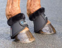 ARMA Fur Trimmed Overreach Bell Boots