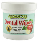 AromaCare Dental Wipes, 100 ct