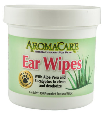 AromaCare Ear Wipes, 100 ct