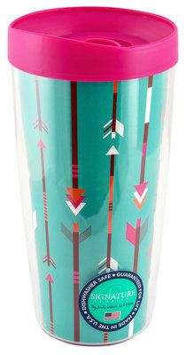"""Arrows"" Traveler Tumbler"