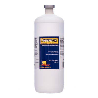 Ivermax® 1% Ivermectin Injection, 1000 mL - Short-Dated (Exp. 7/31/2015)