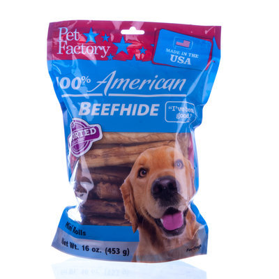 100% American Beefhide, Assorted Beef & Chicken Flavors