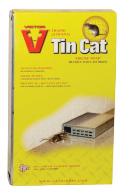 Tin Cat Mouse Trap