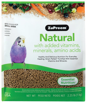 ZuPreem Natural Premium Daily Bird Food