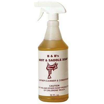 B & B's Boot & Saddle Soap, 32oz