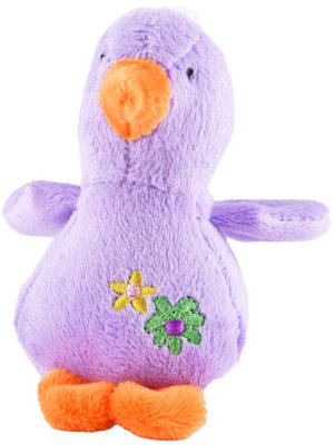 "Jeffers 4"" Baby Duck Plush Squeak Toy, each"