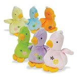 Baby Ducks with squeakers, 6 Pack, Assorted