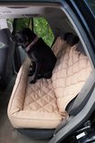 Back Seat Protector with Headrest for Dogs