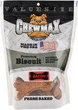 "Chewmax Premium Bacon Biscuits, 4""L"