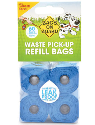 Classic Blue Refill Bags, 60 ct