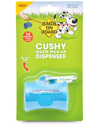 Waste Pick-Up Dispenser, Teal