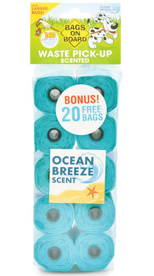 Scented Turquoise Refill Bags, 140 ct