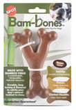 Bam-Bones Bacon Wishbone Chew Toy