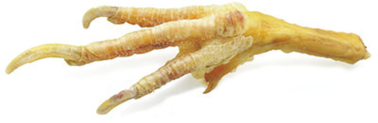 All-Natural Chicken Feet, 100 Count