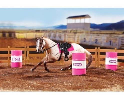 Barrel Racing Breyer Set
