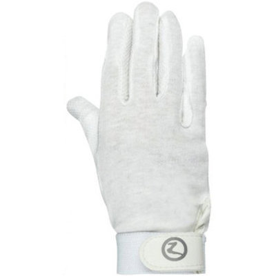 Basic Polygrip Gloves, White