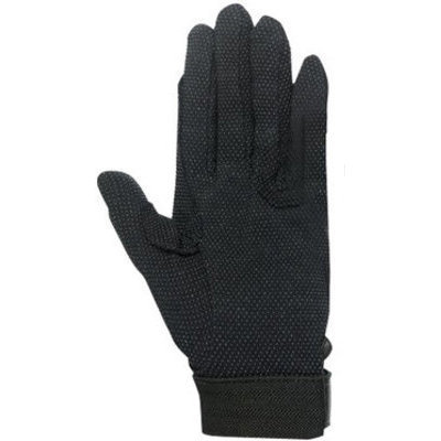 X-Small Basic Polygrip Gloves, Black