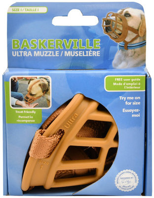 Baskerville Ultra Dog Muzzle, Size 1