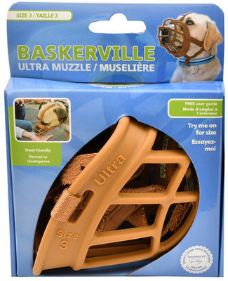 Baskerville Ultra Dog Muzzle, Size 3