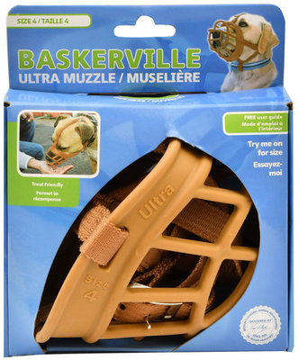 Baskerville Ultra Dog Muzzle, Size 4