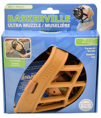 Baskerville Ultra Dog Muzzle, Size 5