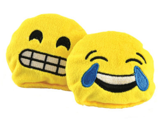 Emoji Bavarian Catnip Cat Toys, 2-pack