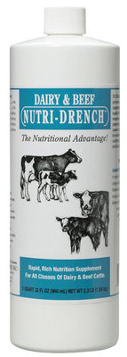 Dairy and Beef Nutri-Drench™ for cows