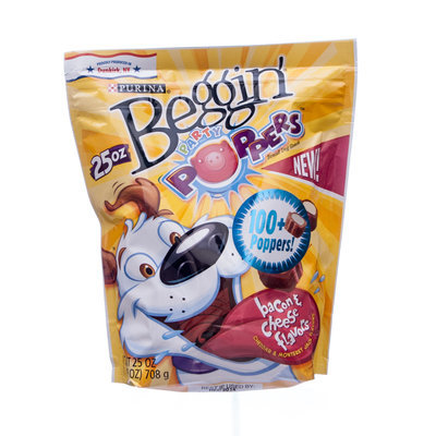 Beggin' Party Poppers, 25 oz.