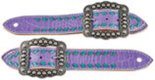 Buckstitch Belt Style Spur Straps