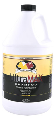 "1.1 Gallon Best Shot UltraMAX Pro ""4-in-1"" Shampoo"