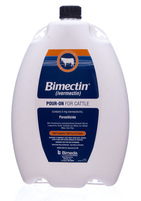5 L Bimectin Pour-on (Hazmat Fee applies)