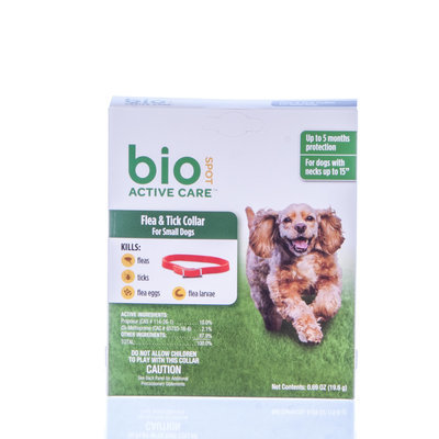 BioSpot® Active Care™ Flea & Tick Collar for Dogs (5 Month)