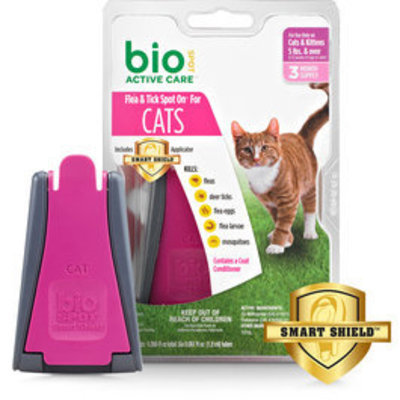 BioSPOT Active Care Spot-On For Cats Over 5 lb