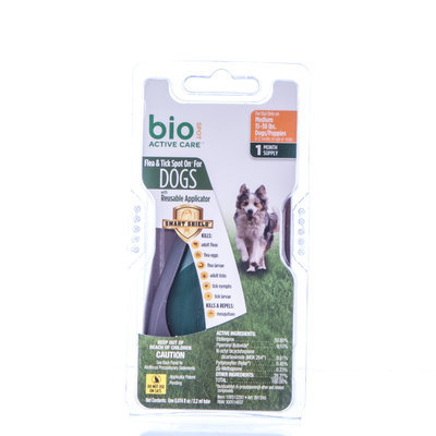 BioSPOT Active Care Spot-On For Dogs 15-30 lb