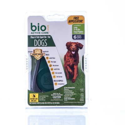 BioSPOT® Active Care for Dogs, 31-60 lb (6 Month)
