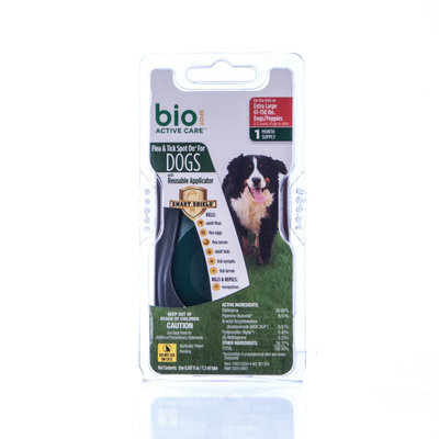BioSPOT Active Care Spot-On For Dogs 61-150 lb