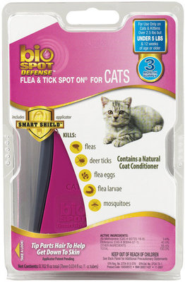 BioSPOT® DEFENSE for Cats Over 5 lbs <br>(6 month supply)