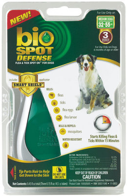 BioSPOT® DEFENSE Spot On for Dogs